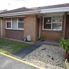Rental info for Positioned Perfectly to Central Oakleigh in the Melbourne area