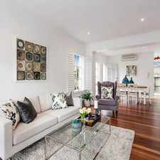 Rental info for Stunning Executive Townhouse in the Heart of South Yarra