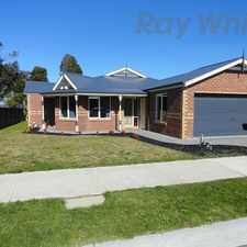 Rental info for PERFECT PAKENHAM