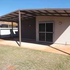 Rental info for Modern 3 bedroom property with with a large lawned back yard and storage shed