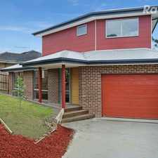 Rental info for Close to Mooroolbark Shops, Cafes & Public Transport in the Melbourne area