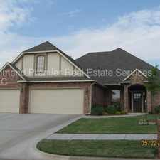 Rental info for Beautiful 3 bedroom home in gated area in the Oklahoma City area