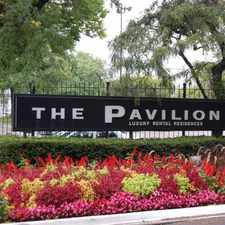 Rental info for Pavilion Apartments