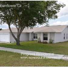 Rental info for 13124 Moonflower Ct
