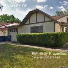 Rental info for 4850 COBB VALLEY DR in the San Antonio area