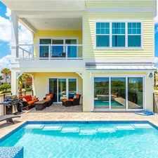 Rental info for Hawks Cove, 6 Bedroom, Cinnamon Beach, Ocean Front, Private Pool, Sleeps 14