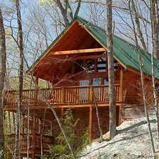 Rental info for Knotty 'N Nice, 2 Bedrooms, Hot Tub, Pool Table, Jetted Tub, Sleeps 8