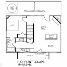 Rental info for Highpoint Escape, 3 Bedrooms, Mountain Views, Hot Tub, WiFi, Sleeps 10
