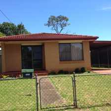 Rental info for Large fully fenced yard close to major shopping..... in the Newtown area