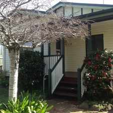 Rental info for Cute Little Cottage Close to the CBD in the East Toowoomba area