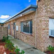 Rental info for LARGE 2 BEDROOM VILLA STYLE/UNIT in the Mortlake area