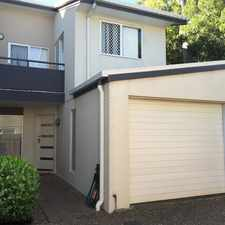 Rental info for The Perfect Townhouse! in the Brisbane area