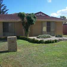 Rental info for Available Now - REDUCED in the Perth area