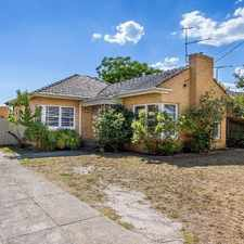 Rental info for Updated and Ready in the Bentleigh East area