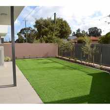 Rental info for CITY LIVING WITH A LARGE BACKYARD in the North Perth area
