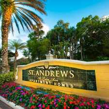 Rental info for St. Andrews at Palm Aire