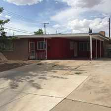 Rental info for Remodeled 3br, 2ba house with refrigerated air, a large patio and storage room in the backyard.