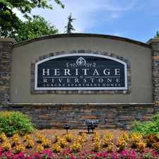 Rental info for Heritage at Riverstone