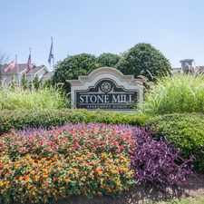 Rental info for Stone Mill in the Cartersville area