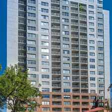 Rental info for Country Club Towers in the Speer area