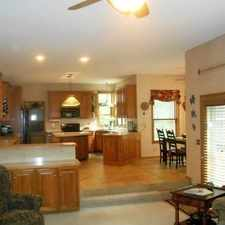 Rental info for EXQUISITE CUSTOM HOME. Single Car Garage!