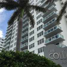 Rental info for 6917 Collins Avenue