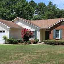 Rental info for Private 3 bedroom/2 bathroom Gem in Peachtree City