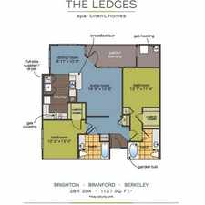 Rental info for $1480 2 bedroom Apartment in New London County Groton