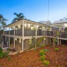 Rental info for SPACIOUS QUEENSLANDER PERFECT FOR A FAMILY! in the Brisbane area