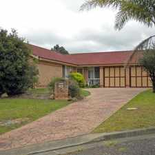 Rental info for Perfect for the family in the North Nowra area