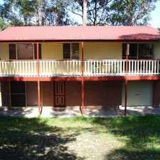 Rental info for 3 bedroom house with rumpus in bushland setting in the Ulladulla area