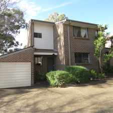 Rental info for NEATLY PRESENTED, QUIET COMPLEX!