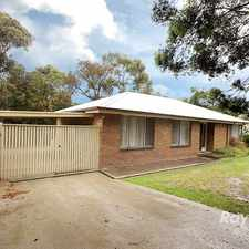 Rental info for A spacious 3 bedroom home near train station and schools in the Upwey area