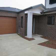 Rental info for NEAR NEW SINGLE LEVEL RESIDENCE in the Melbourne area