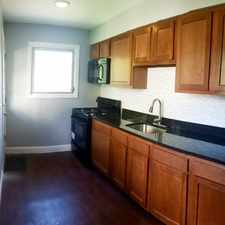 Rental info for West Side Renovated w/3 BR with Central AC in the East Baltimore Midway area