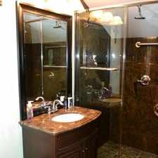 Rental info for This rental is a one bedroom 1 bath unit above the owners garage. Parking Available!