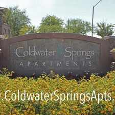 Rental info for Coldwater Springs in the Avondale area