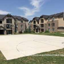 Rental info for 1045 South 1700 West