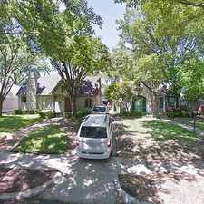 Rental info for Single Family Home Home in Dallas for For Sale By Owner in the M Streets area