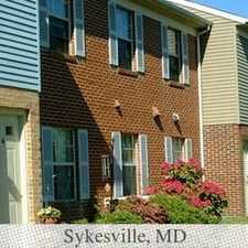Rental info for 2 bedrooms Apartment - Piney Ridge is conveniently located in Eldersburg.