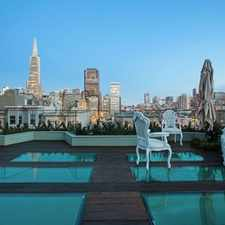 Rental info for Unparalleled Luxury Showcase Residence in the Telegraph Hill area
