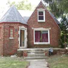 "Rental info for PRICE REDUCTION!!!! NEW ON THE MARKET!!! Hard to find ""4"" bedroom, 1 bath brick home in Detroit's West side! in the Rosedale Park area"