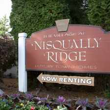 Rental info for Village at Nisqually Ridge in the Olympia area