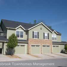 Rental info for Saddlebrook Townhomes