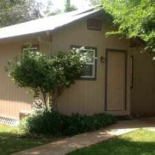 Rental info for Right in Down Town Redding. Close to shopping and services