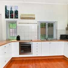 Rental info for Queenslander style townhouse in the Brisbane area