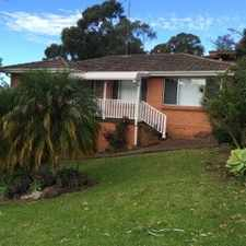 Rental info for Beautiful 3 Bedroom Family Home close to schools in the Farmborough Heights area