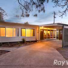 Rental info for A Neat 3 Bedroom Home On A Low Maintenance Block in the Melbourne area