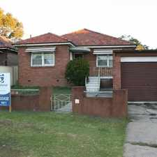 Rental info for 12 Ledger Road, Merrylands NSW 2160