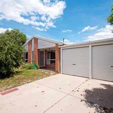 Rental info for SPACIOUS LOW MAINTENANCE FAMILY HOME in the Canberra area